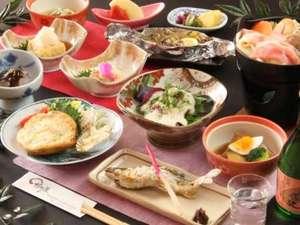 地元の食材をたっぷり使用♪素材を生かした素朴な味をお楽しみください。
