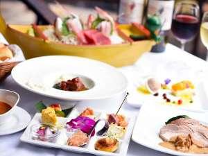 静岡の食材が熱い!健康とおいしさを気遣ったメニュー♪伊豆近海で捕れた鮮魚の船盛付き。