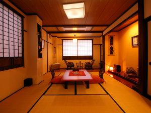 【桜草】12畳和室+板縁 トイレ付きの客室