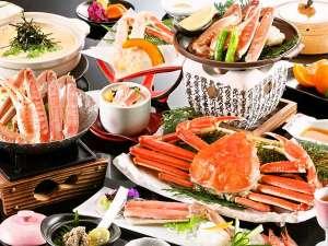 【カニ満喫会席】☆ズワイ蟹をお一人様2.5杯分、正にカニ尽くし会席♪