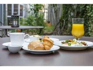アイビーガーデン朝食