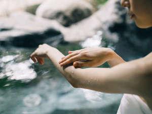 【美人の湯 モール温泉】化粧水のような保湿効果があり、浸透性に富み、肌に優しい温泉です。(イメージ)