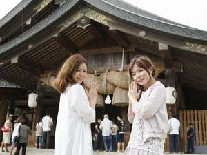 ご縁の国・島根の縁結び冬旅はぜひ【出雲大社】へ!当館から車で約1時間★