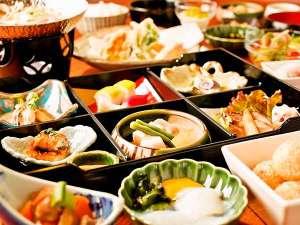 【夕食】木の葉御膳の全体一例(一例)