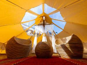 インスタ映え間違いナシ◎アジアンリゾート感をイメージしたグランピングテント過ごす贅沢なひととき