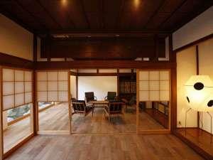 【KURA01】300年前の宿場町(宮城県の七ヶ宿)から移築した大きな蔵座敷をリノベーション※全室に露天風呂付