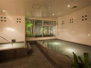 ■大浴場■ 15時~翌朝9時(サウナは24時まで) 、男湯はジェットバス/女湯はイオンバス付 ※無料