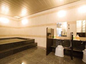 サウナ付大浴場