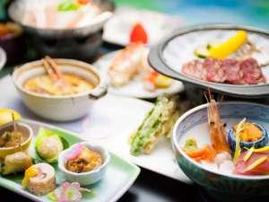地元産の食材にこだわった和食膳をたっぷりお召し上がりください