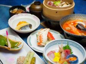 【松膳】地元産の食材にこだわった和食膳をたっぷりお召し上がりください