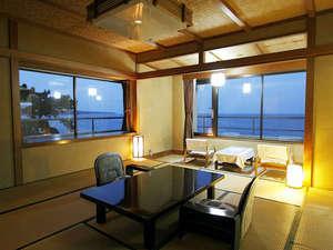 【和室10畳以上】 伊豆大島&海一望のお部屋