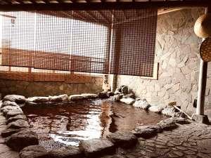 露天風呂(源泉+薬湯風呂)