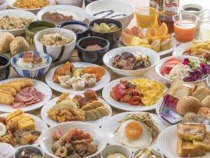 大分名物から定番メニューまでフォルツァらしさ溢れる元気朝食を準備いたしました!