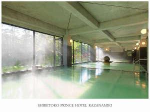 大浴場:露天風呂は源泉かけ流し
