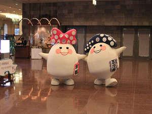 マスコットキャラクター玉次郎・玉姫 (29年8月11日~29年8月15日は時間限定で玄関お出迎えあるよ!)