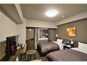 コンフォートツインルーム<ベッドサイズ110×200(cm)> 全ての客室でWOWOWをご覧いただけます。