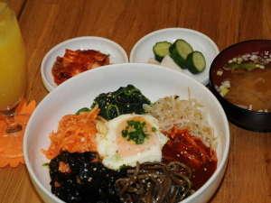 韓国朝食:ビビンバ