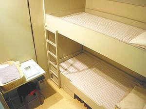 【2段ベッド】お一人様でもゆったりご利用OK♪