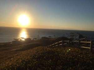 襟裳岬の日の出。神々しいですね。