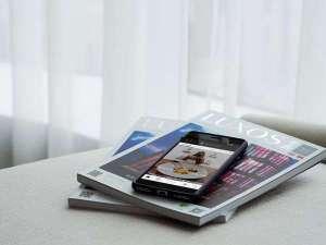 無料でご利用いただけるレンタルスマートフォン「handy」を全客室に導入いたしました。