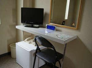 地デジ対応テレビ全室完備