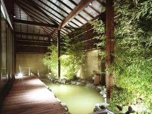 ◆灯心の湯-露天風呂(男女入替制)