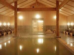 【温泉大浴場】灯心の湯/洞爺「一の湯」とも呼ばれる源泉かけ流し!日帰り入浴もOK♪