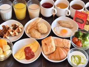 朝食は6:30~洋食のイメージ