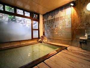 内湯(姫)-湯畑源泉100%掛け流し天然温泉