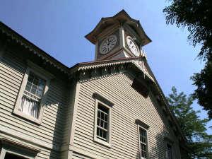 夏の時計台