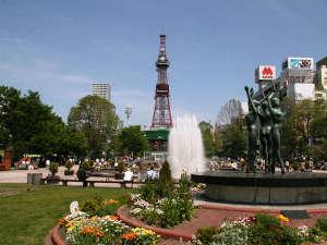 【夏】散歩にランチに皆が憩う大通公園