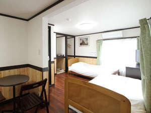 ホテル・モルゲンロートの客室の1つ