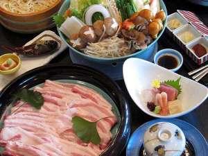 夕食一例【創作豚鍋】冬季限定