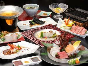 冬の新コース【美味しい和色めぐり】~天然クエ・熊野牛・伊勢海老の美味饗宴~