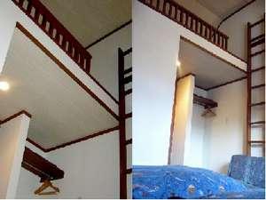 裏磐梯リゾートペンション藍のおすすめロフト付のお部屋