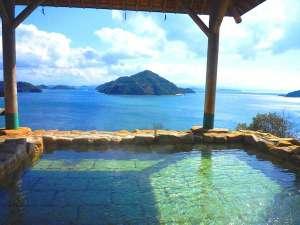 露天風呂からの瀬戸内の多島美をお楽しみいただきます。