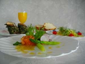 夕食一例♪イタリアンコース料理をご堪能ください!