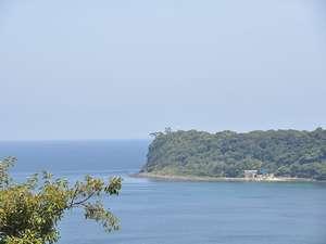 太平洋を一望、緑豊かな環境