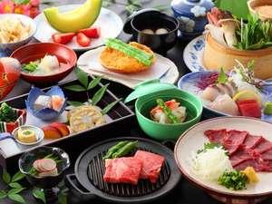 【夕食】郷土料理会席(一例)