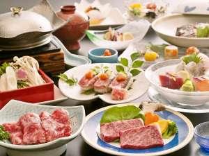 トリプル伊予牛「絹の味」*伊予牛3品付プランお料理イメージ