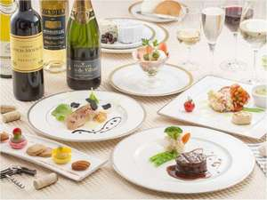ワインとお料理のマリアージュをお楽しみください。