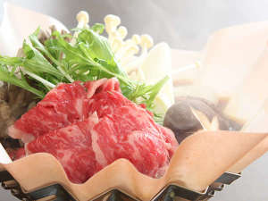 すき焼き県群馬!!すべての食材が地物。地産地消推進店の『上州牛のすき焼き』