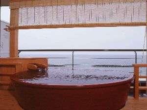 瀬波温泉 大観荘 せなみの湯 部屋付露天風呂