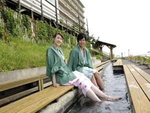足湯「日本海」