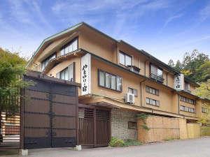 【外観夕景】岩手県・台温泉に佇む14室の隠れ宿