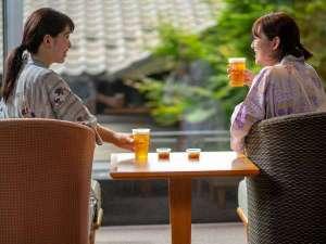 【湯上がり生ビール】お風呂上りに生ビールはいかがですか♪(~21:00まで※1杯500円)