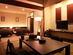 【ラグジュアリーな空間で過ごすお勧め客室】ゆったり広めのサイズが贅沢な和洋室。
