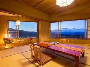 『山紫水明の景色』をご覧いただけます。<お部屋に泊まる>ことが最高の記念に♪