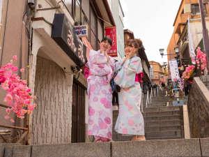 情緒あふれる伊香保石段街は、フォトスポットがた~くさん♪インスタ映え間違いなし!