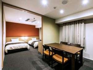 【新棟別館 スイート 40㎡】最上階(8階)のお部屋とバリアフリー対応